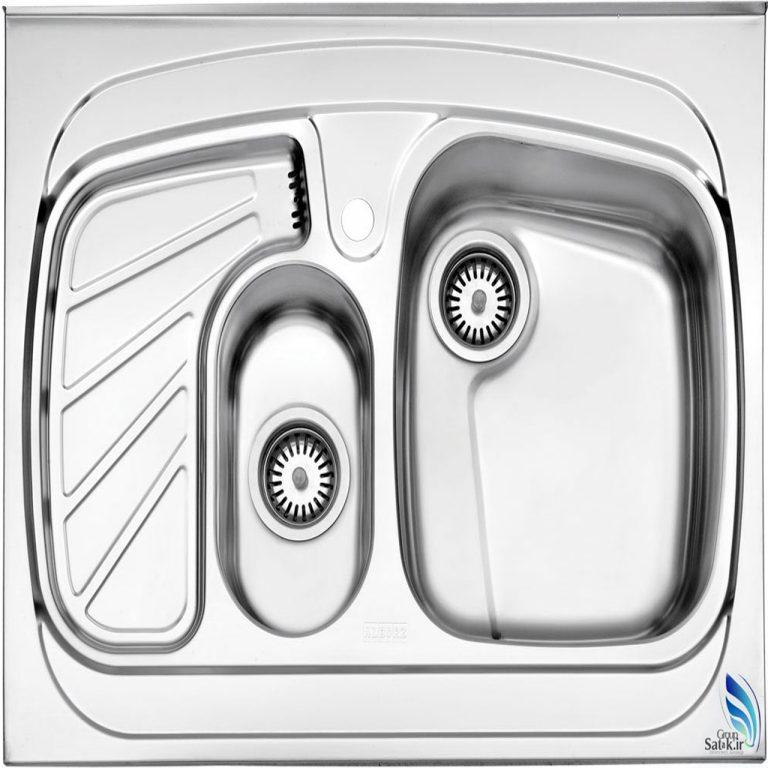 سینک روکار استیل البرز مدل 608