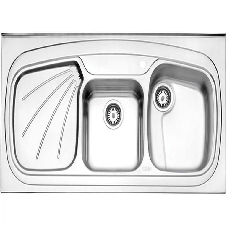 سینک روکار استیل البرز مدل 614