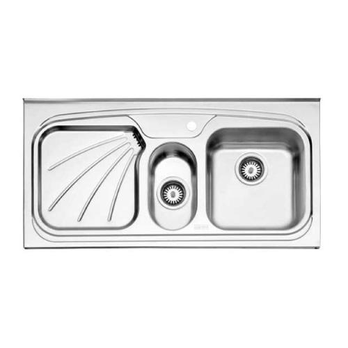 سینک روکار طرح پروانه استیل البرز مدل 610.50